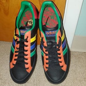 Adidas Nastase Black/Multicolor Shoes SIZE 12